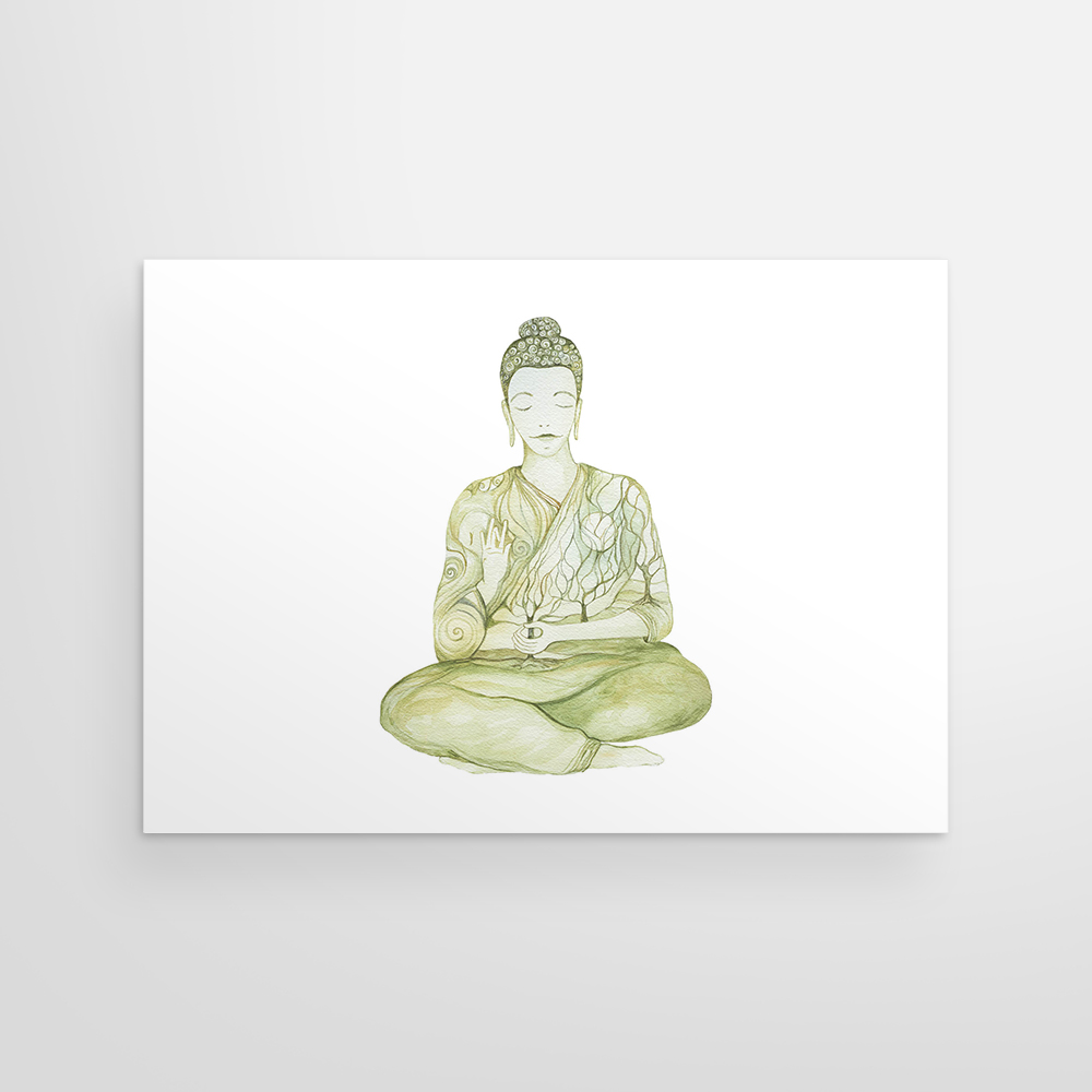 Buddha in Greens