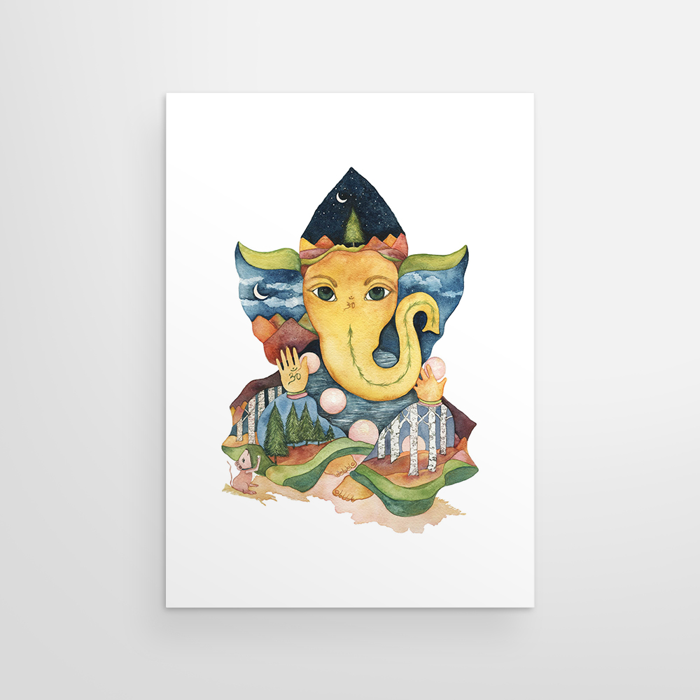 Mountain Ganesha